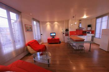 Un salon fun et moderne !